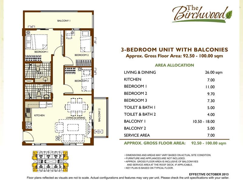 The Birchwood Residences 3BR big