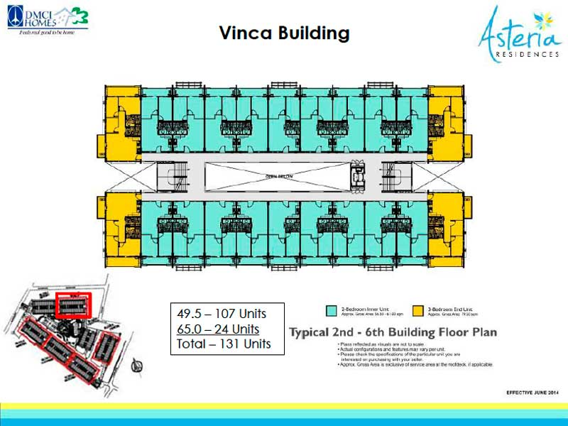 Asteria Residences floorpan