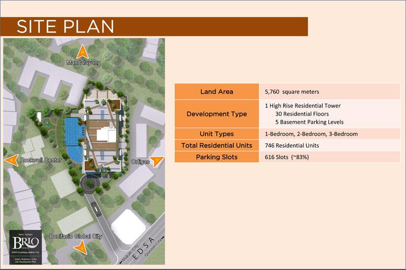 Brio Tower Site Development Plan