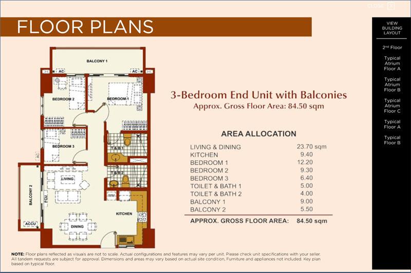 Brio Tower 3 Bedroom