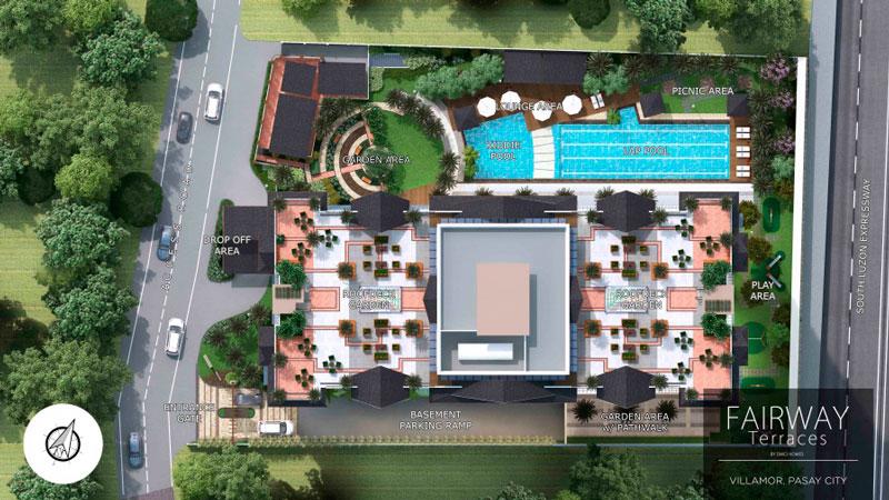 Fairway Terraces Site Development Plan