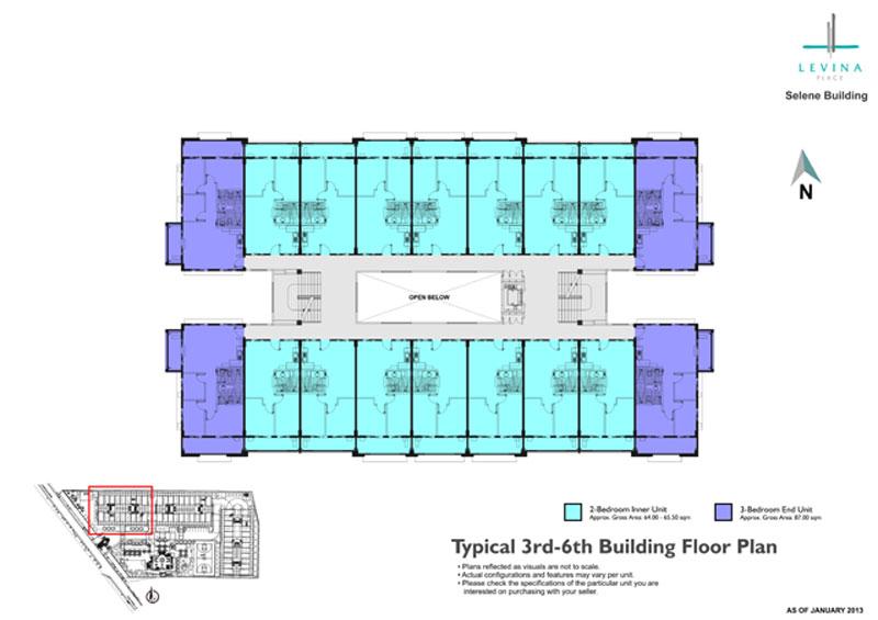 Levina Place Floorplan