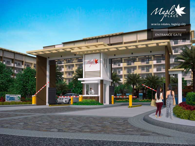 Maple Place Entrance Gate