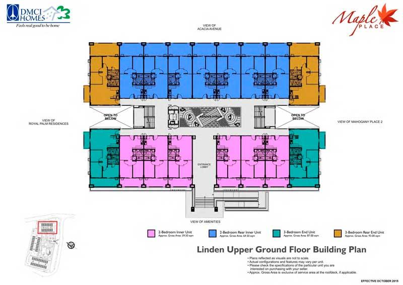 Maple Place Floor Plan