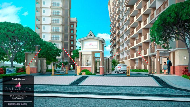 Calathea Place Entrance-Gate