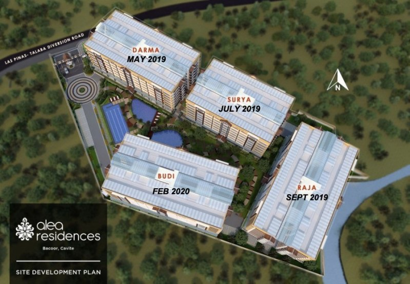 Alea Residences Site Development Plan