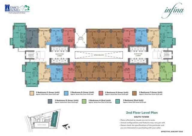 Infina Towers Floor plans