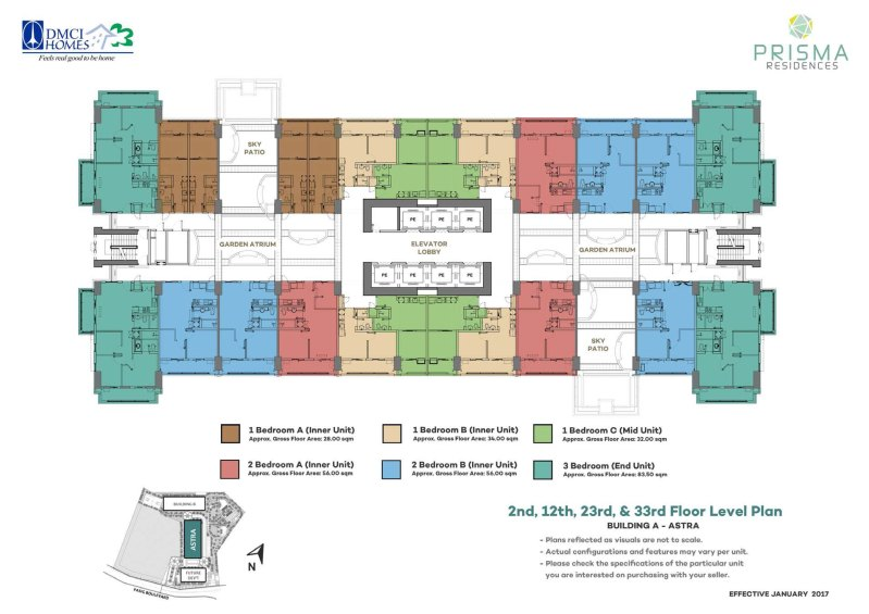 Prisma Residences Floorplan 1