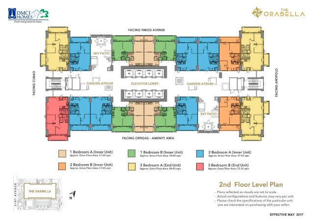 The Orabella DMCI Floorpan