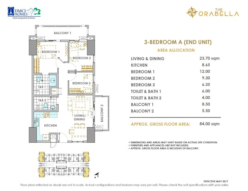 The Orabella DMCI 3 bedroom