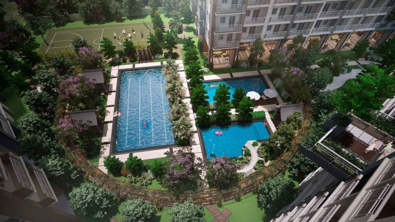 Kai Garden Residences Amenity Core