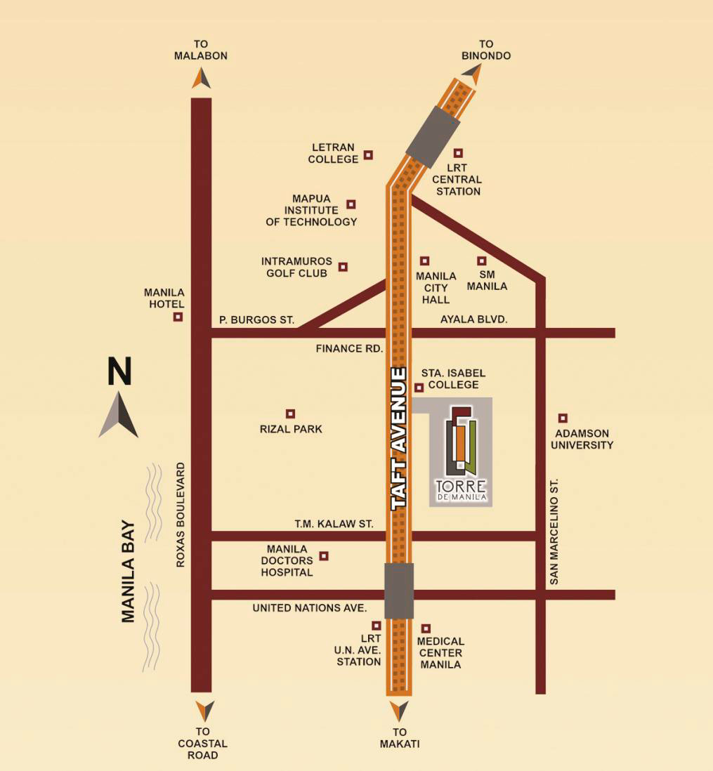 torre de manila location dmci homes online