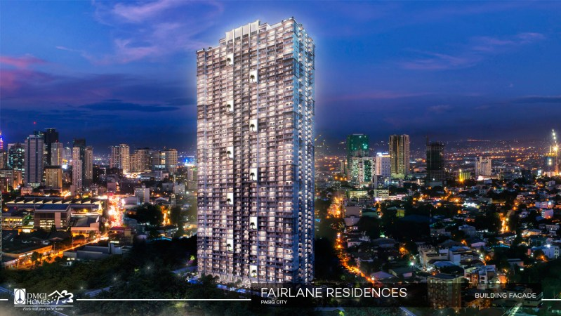 Fairlane Residences Building Facade