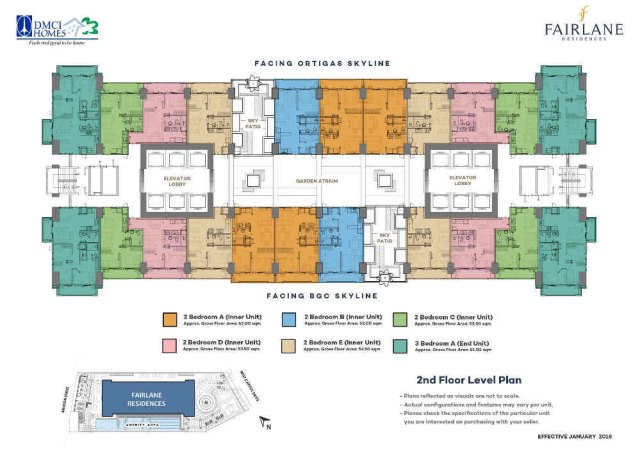 Camden Place DMCI Floorplan