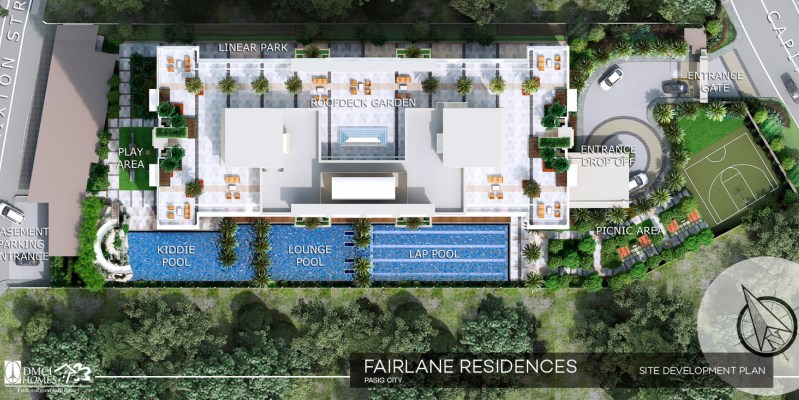 Fairlane Residences Site Development Plan