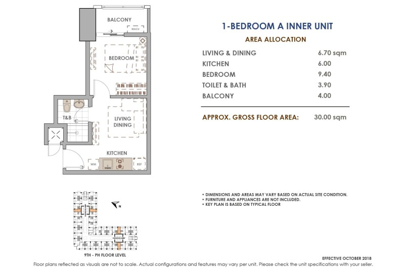 Aston Residences 1 Bedroom A