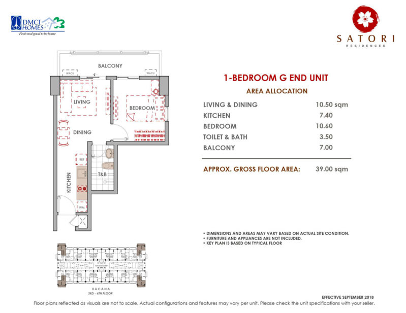 Satori Residences 1 Bedroom