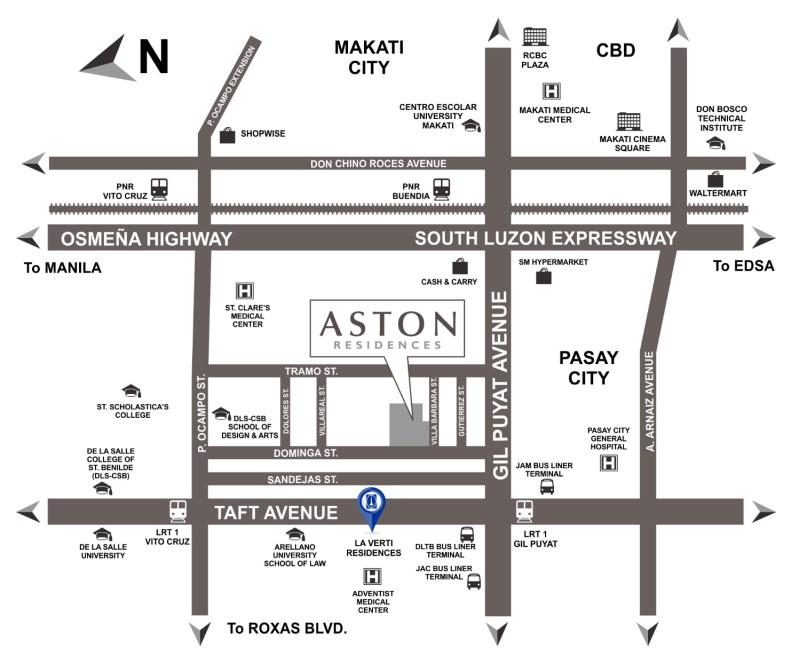 Aston Residences Location