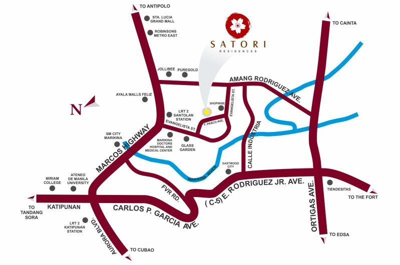 SATORI LOCATION