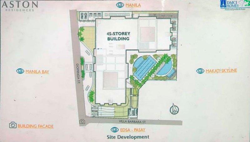 Aston Residences Site Development Plan
