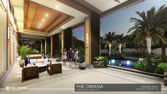 The Oriana DMCI Lounge Area