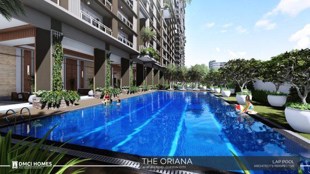 The Oriana DMCI Lap Pool