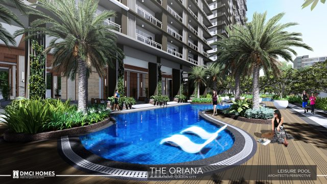 The Oriana DMCI Leisure Pool
