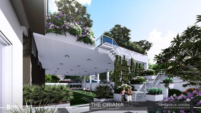 The Oriana DMCI Upper Deck Garden
