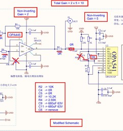 diy function generator amplifier schematic [ 1752 x 1065 Pixel ]