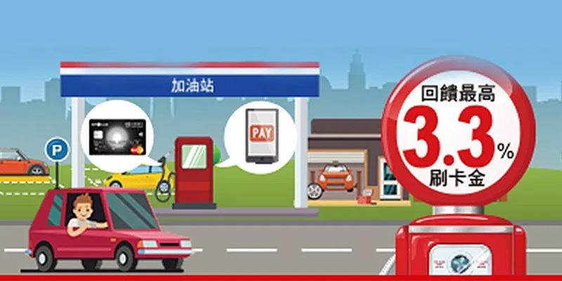 中油直營/臺亞/臺糖加油站刷臺新卡‧加油回饋最高3.3%刷卡金 – 優惠福利社