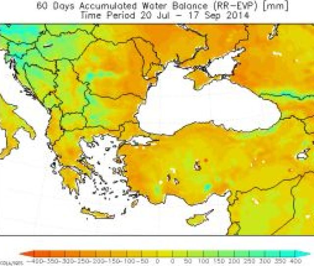 July To 17th September Left Figure Above Shows Wetter Situation Than In Previous Decade In Slovenia Hungary Croatia Bosnia And Herzegovina Serbia