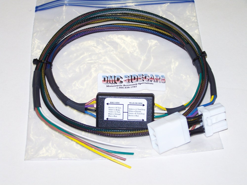 medium resolution of harley davidson trike 5 to 4 wire convertor this basic wiring harness automatically converts from a 5 wire system to a 4 wire system saving the headaches