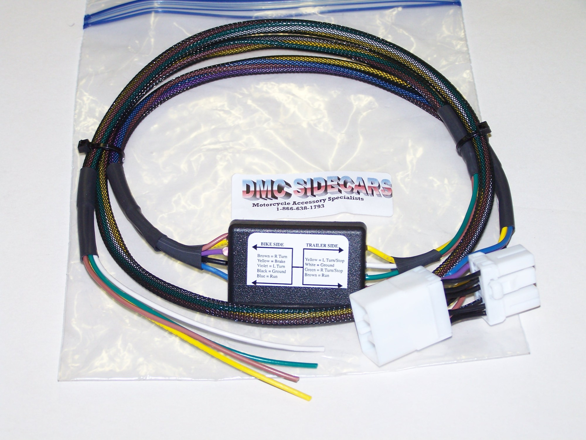 hight resolution of harley davidson trike 5 to 4 wire convertor this basic wiring harness automatically converts from a 5 wire system to a 4 wire system saving the headaches