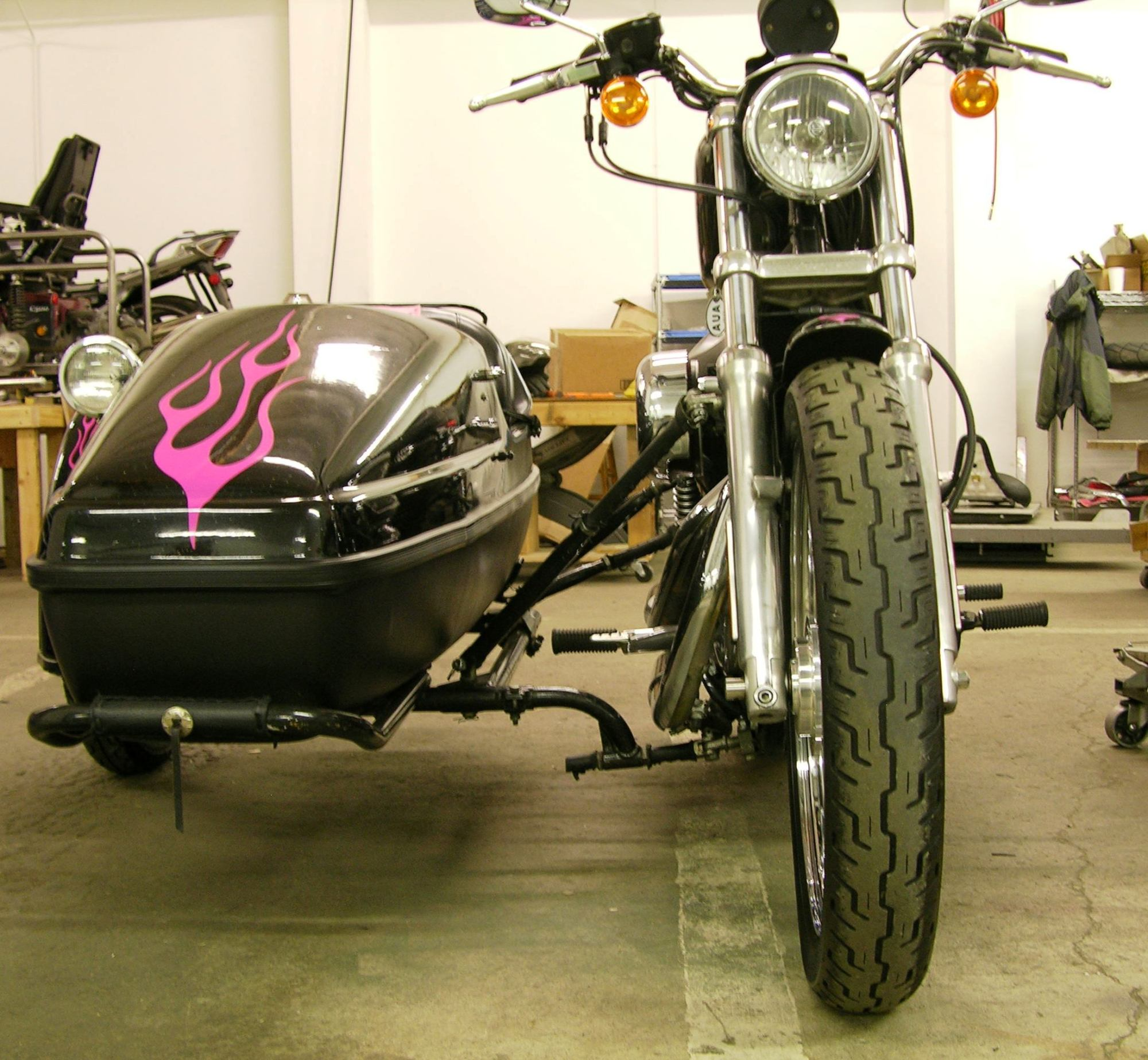 hight resolution of the sidecar mounting dmc sidecars the harley sidecar fender wire diagram