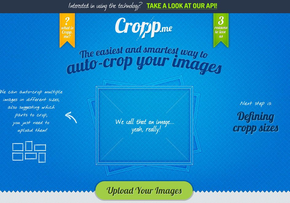 Crop your images
