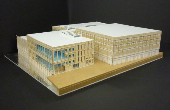maquette bibliotheek Ligne Sittard