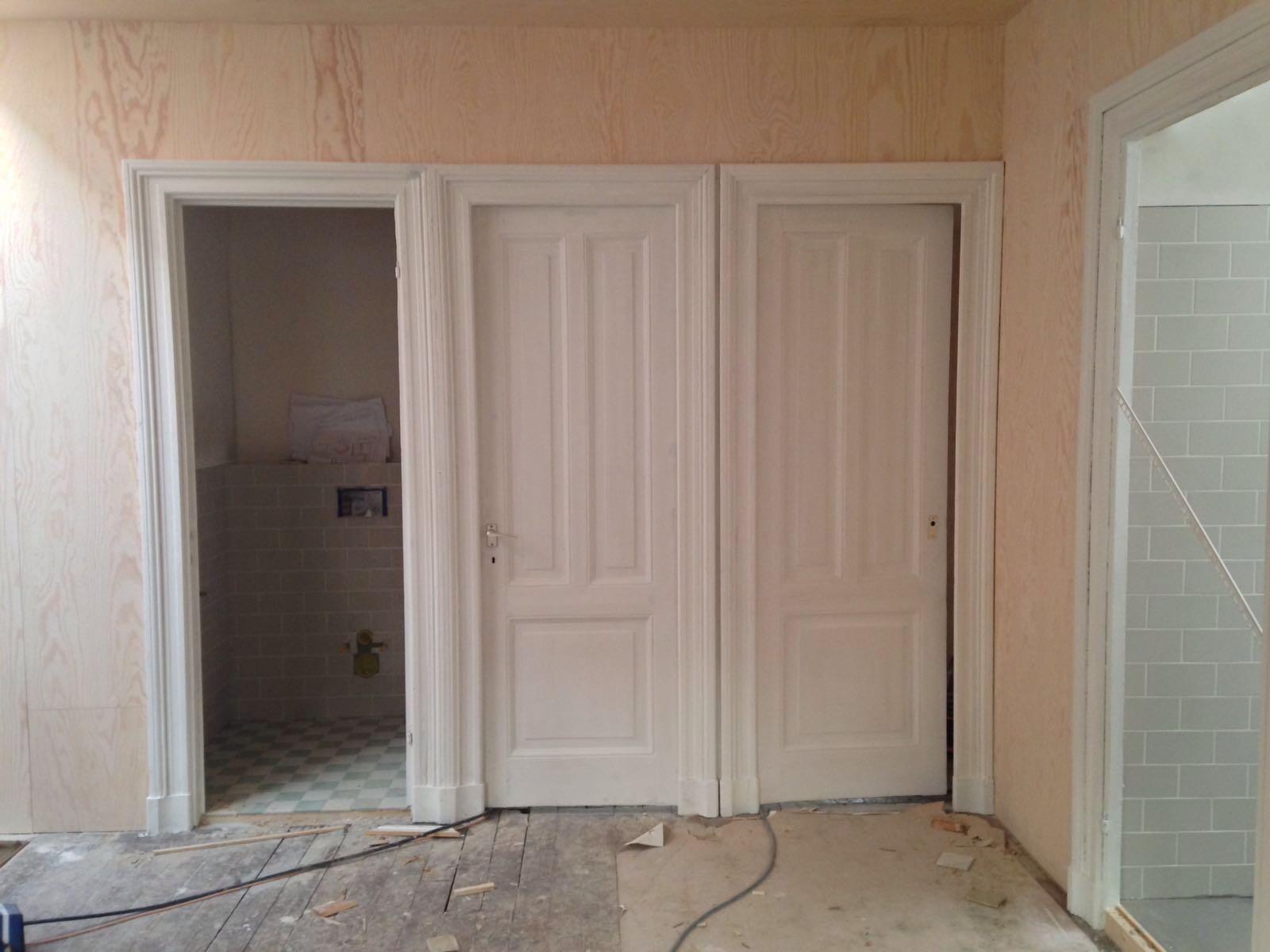 schilderwerk deuren - Woonhuis Watergraafsmeer II