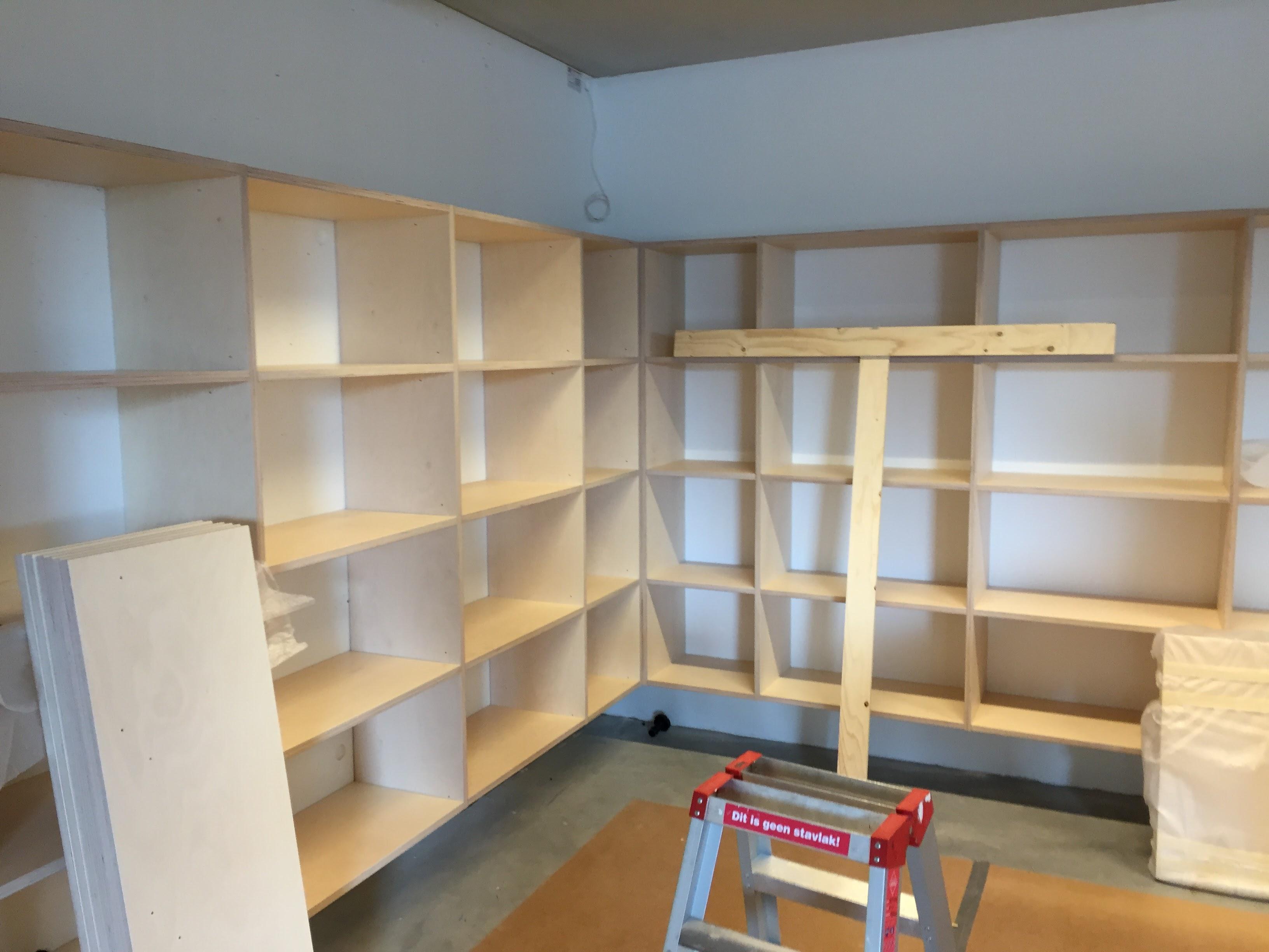 tijdschriftenkasten - Bibliotheek Ligne Sittard