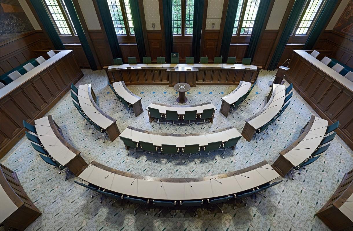 Raadzaal Stadhuis Rotterdam