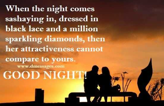 a good night text for her