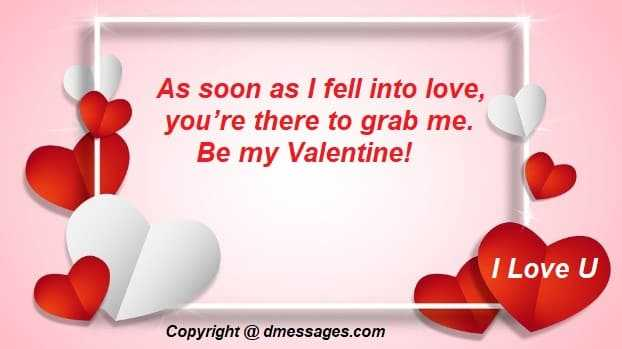 Happy valentines day love message