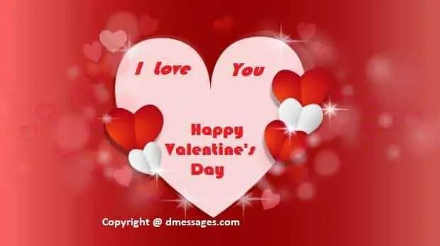 Happy valentines day message to boyfriend