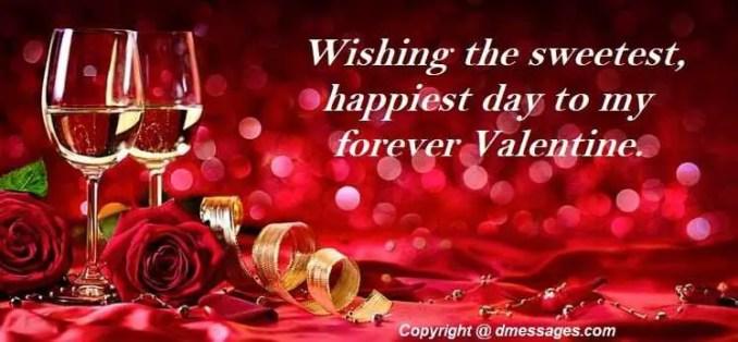 Valentine day gift messages
