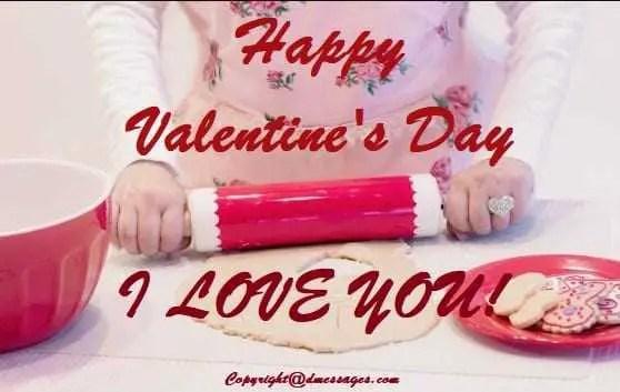 Valentine day text sms