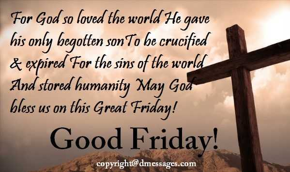 cute happy good friday wishes
