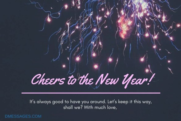 Happy New Year Wishes For Sister