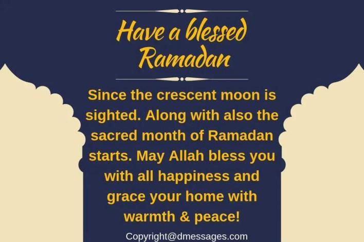 greetings ramadan mubarak