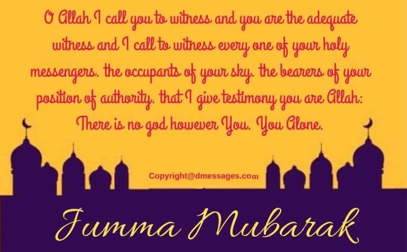 250+ Beautiful Jumma Mubarak Wishes Messages – SMS – Quotes