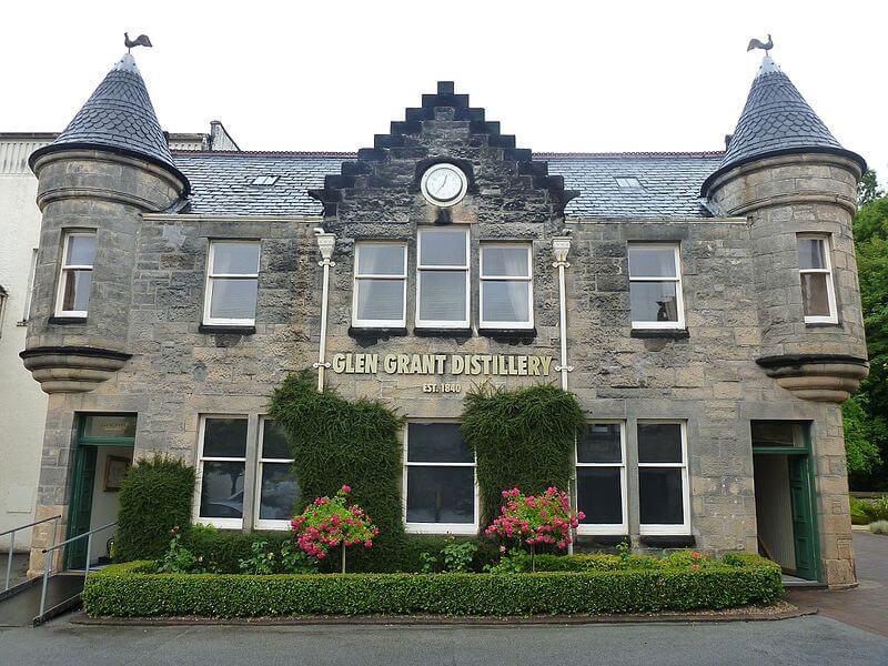 Glen Grant Distillery & Garden