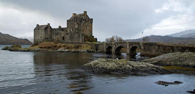 a castle in majestic torridon